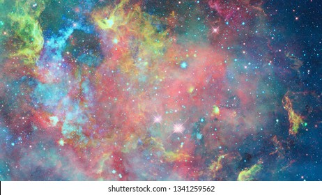 Galaxy and nebula. Space stars. Elements of this Image Furnished by NASA