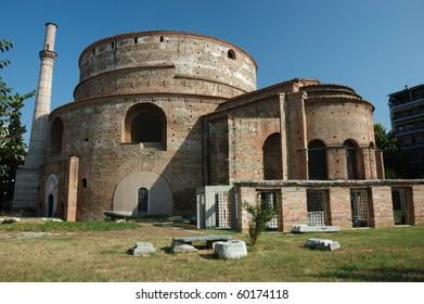 Galerius' Rotunda of St. George (Galerius' Tomb) in Thessaloniki,Greece