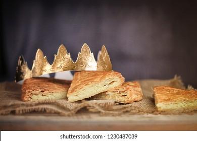 galette des rois, gâteau d'épiphanie