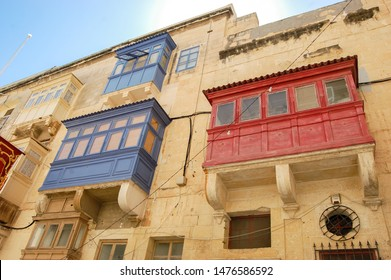 The Gallarija are traditional coloured maltese balcony. The palaces are full of this colorful balcony and the gallarija become one of the most famous symbols of Malta culture and tradition.