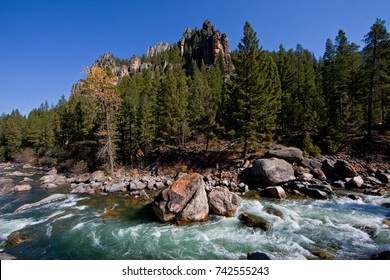 Gallatin River near Big Sky, Montana