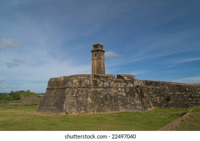 Galle fort in Srilanka listed in UNESCO as World Heritage Site since 1988.