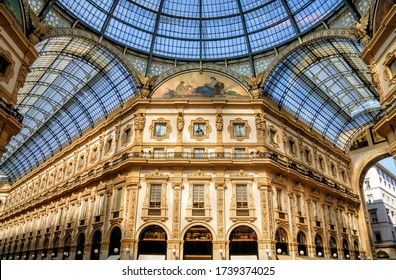 Galleria Vittorio Emanuele II is Italy's oldest active shopping mall and a major landmark of Milan, Italy.