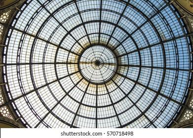 Galleria Vittorio Emanuele II window roof - Milan