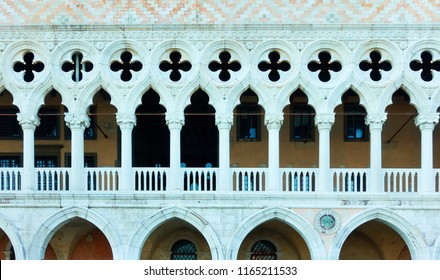 Gallery of Palazzo Ducale (Doges Palace) in Venice, Italy