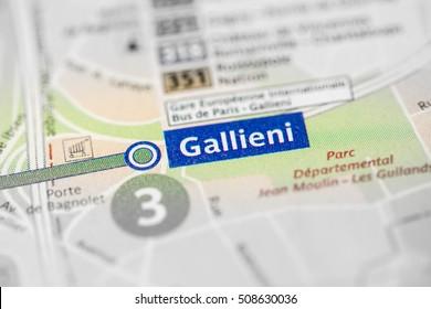 Gallieni Station. 3rd Line. Paris. France