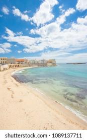 Gallipoli, Apulia, Italy - Magnificent coastline of an impressive italian city