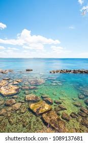 Gallipoli, Apulia, Italy - Wonderful water colors at the calming beach