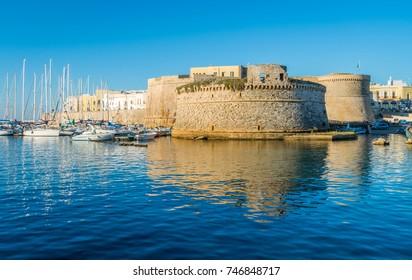 Gallipoli, province of Lecce, Puglia (Apulia), southern Italy.