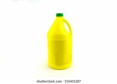 Gallon plastic yellow color