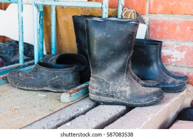 Galoshes and boots