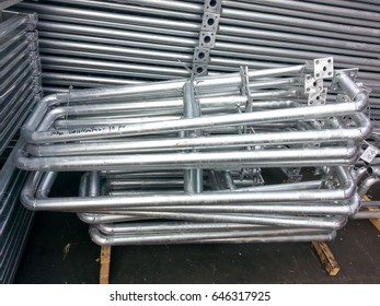 Galvanizing Work Hand Rails