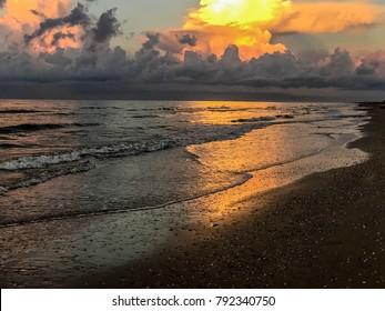 Galveston Bolivar Peninsula Beach Texas