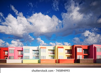 Galveston Texas Gulf Coast - Beach Architecture