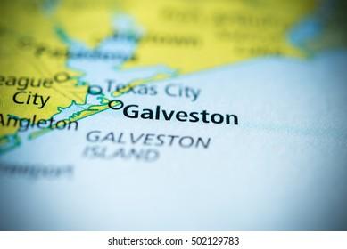 Galveston, Texas, USA.