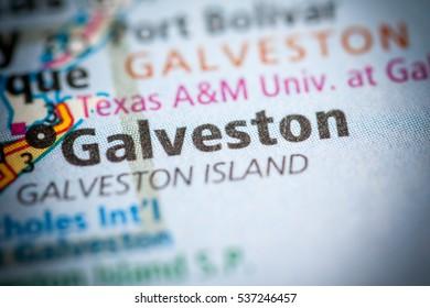 Galveston. Texas. USA