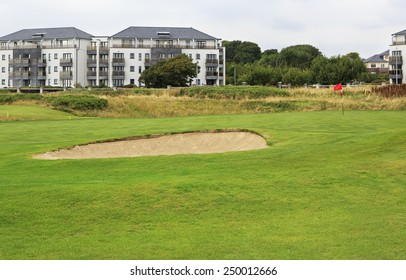 Galway, Ireland - August 26, 2014: Galway Golf Club in the Ireland.