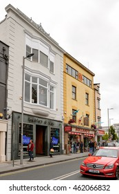 GALWAY, IRELAND - JULY 13, 2016: Galway, Ireland. Galway will be European Capital of Culture in 2020