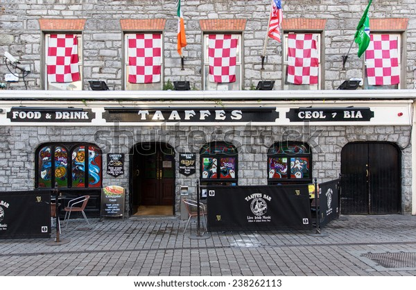 Galway Ireland October 24 2014 Taaffes Stock Photo (Edit Now
