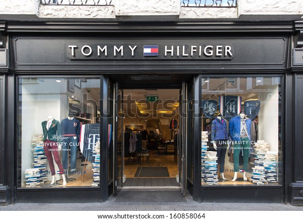 68b0bba5 GALWAY, IRELAND OCTOBER 24 : A Tommy Hilfiger store, Galway, Ireland, 24