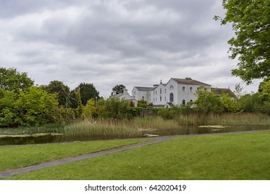 Galway, MAY 6: Country side scene on MAY 6, 2017 at Galway, Ireland