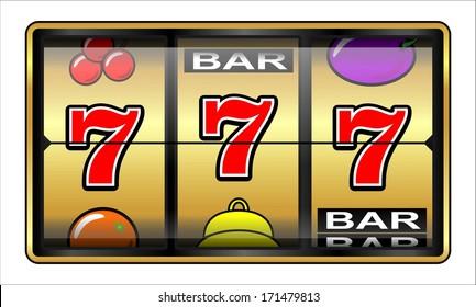 Gambling 777 Slot Machine. Jackpot, casino