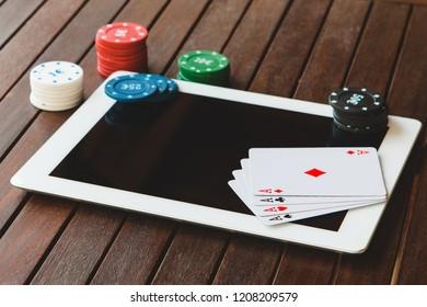 Gambling addiction on internet. Win money playing poker online