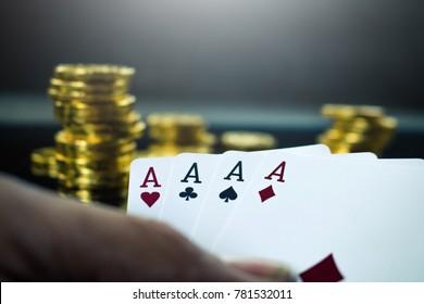 Gambling card game casino.