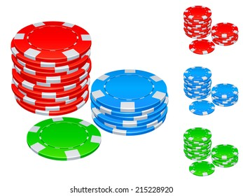 Gambling chips.