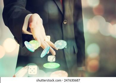 Gambling, male players