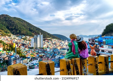 Gamcheon culture village at Busan city south Korea