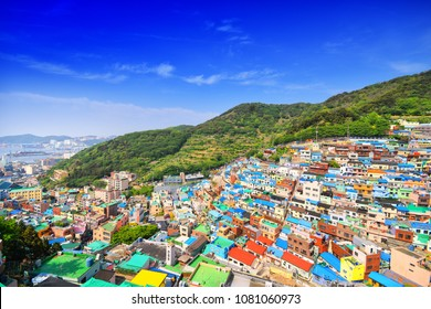 Gamcheon Culture Village, Busan, South Korea travel.
