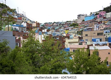 Gamcheon Culture Village in Busan, South Korea