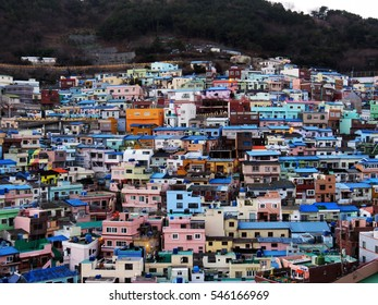 Gamcheon village in Busan, South Korea