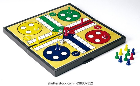 game board ludo play child toy competition yelow family winner red color