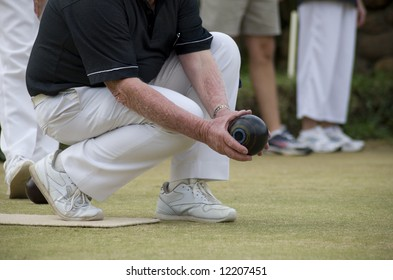 a Game of Bowls for senior citizens.