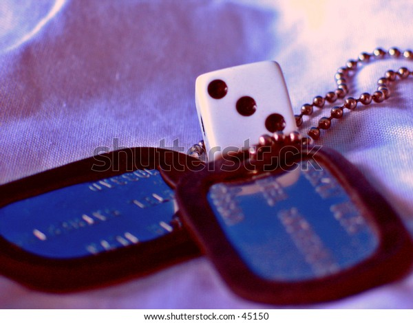 A game of chance with dog tags
