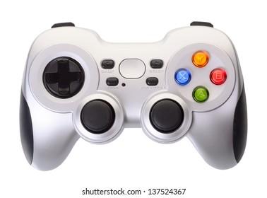 Gamemaster einzeln auf weißem Hintergrund
