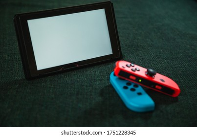 a game device on a table