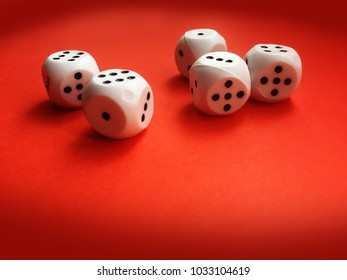 Game dice, board games