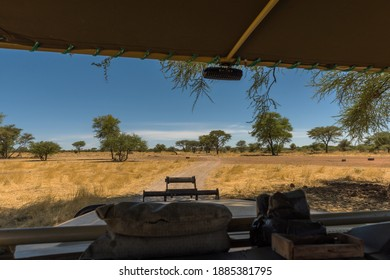 game drive on a guest farm in Namibia