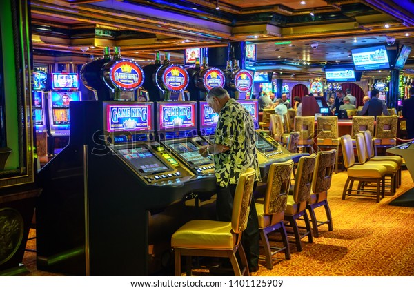 Game King Casino Machines On Carnival Stock Photo Edit Now 1401125909