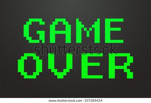 game over symbol