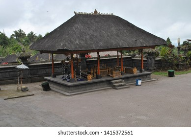 The gamelan gong house in Besakih temple