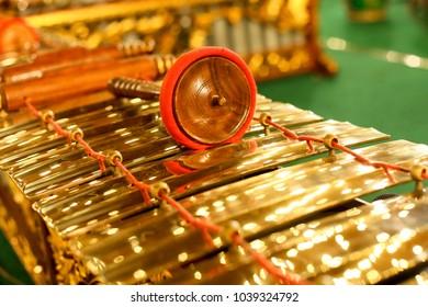 Gamelan, Javanese Traditional Music Instrument