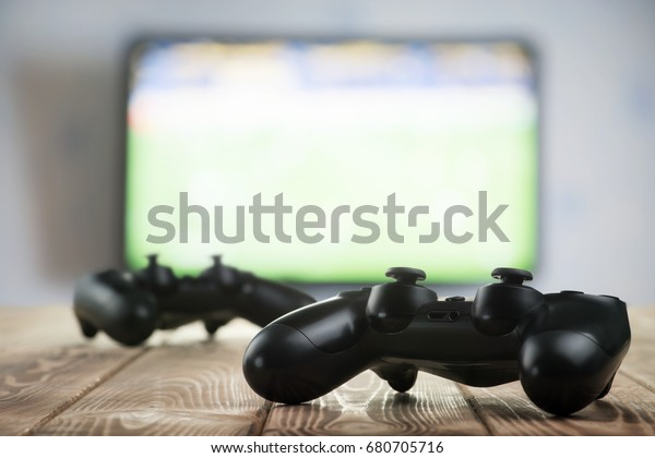 Gamepads on the table