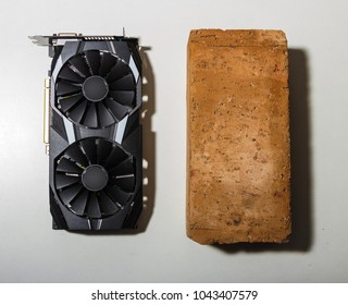 Gaming Video Card, Performance Video Card and ceramic bric