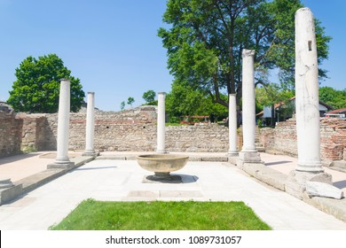 Gamzigrad - the ancient Roman complex of palaces and temples Felix Romuliana, built by Emperor Galerius in Dacia Ripensis.