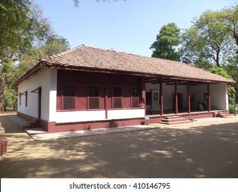 Gandhi Ashram, residence of Mahatma Gandhi in Ahmedabad,Gujarat,India