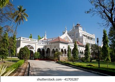 Gandhi memorial, Aga Khan Palace, Pune, Maharashtra, India